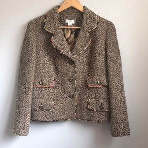 Loft tweed blazer